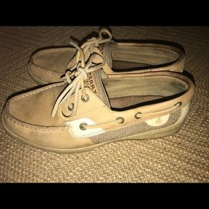 Sperry Tan Angelfish Women's Boat Shoes